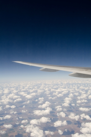 View above the sky from airplane Stock Photo - 13288080
