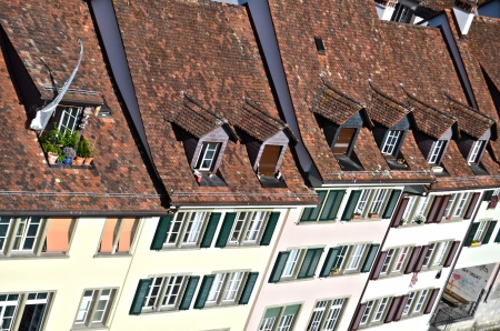 panoramic roof: View on old town of Bern
