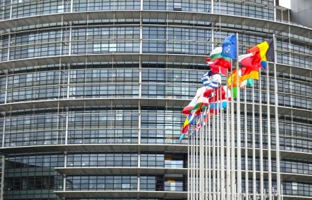 european parliament: the European Parliament in Strasbourg
