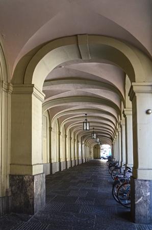 colonade: historical  colonade in Bern