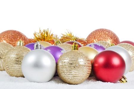The christmas tree ball sa a background photo