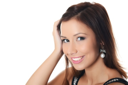 The young beautiful girl with natural make-up Stock Photo - 16036955