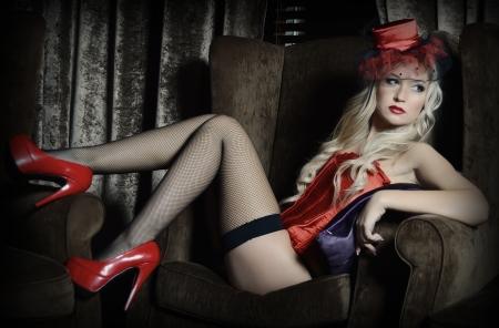 donna sexy: La bella donna in stile retr�
