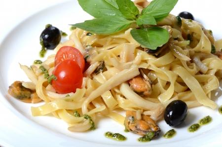 fettuccine: Paste Fettuccine with seafood