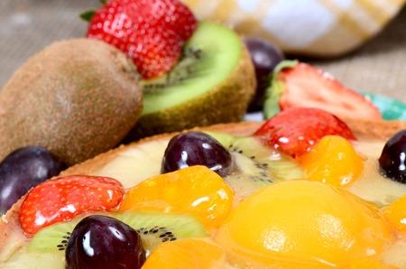shortcake: Cake from a shortcake with fruit