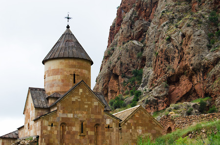13th century: Noravank monastery from 13th century, Armenia Stock Photo