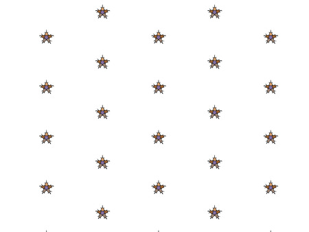 browns: Pattern of stars in soft Browns.