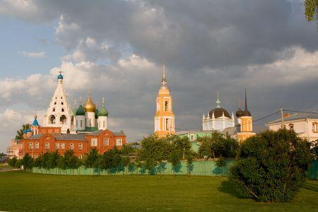 Kind to the Kolomna Kremlin. Moscow Region. Kolomna. The Kremlin. photo
