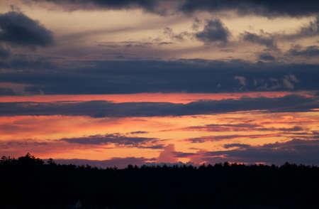nightfall: Muskoka Sunset