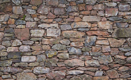 textured: Stone Wall Stock Photo
