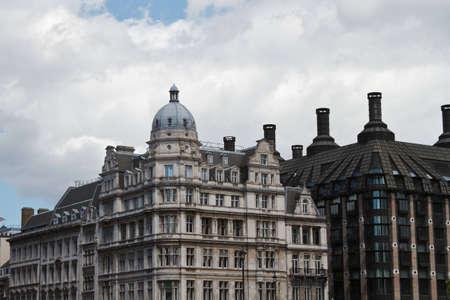 Buildings in London England Editorial