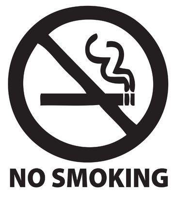 cigaret: no smoking symbol Stock Photo