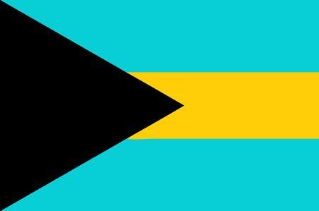 bahamas: national flag of bahamas