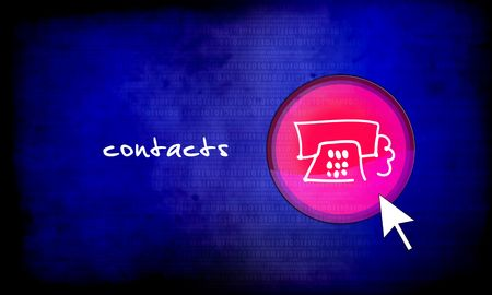 web button - contacts