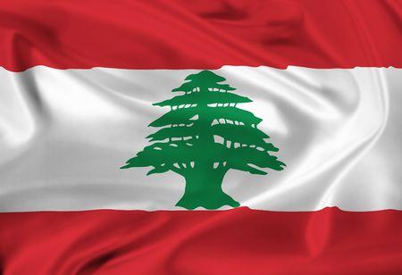 lebanon: national flag of Lebanon