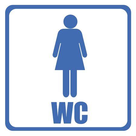 toilet sign - men Stock Photo