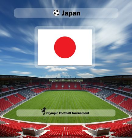 olympic games 2008 - football tournament - team of Japan