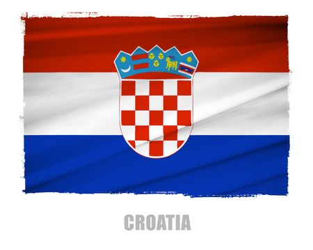croatia: national flag of croatia