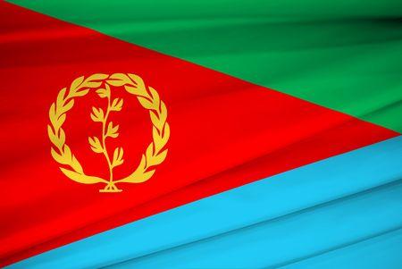 eritrea: national flag of eritrea