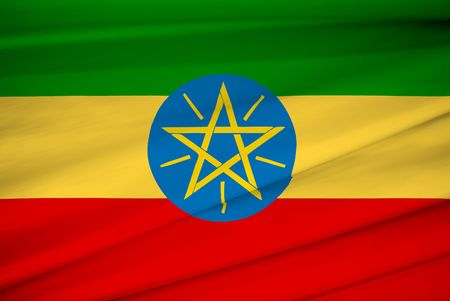national flag of ethiopia Stock Photo - 3411042