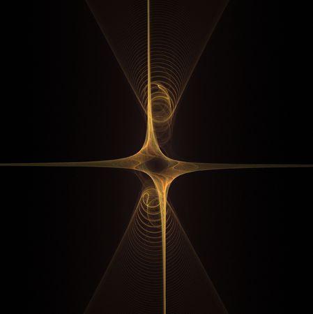 shinning: fractal image Stock Photo