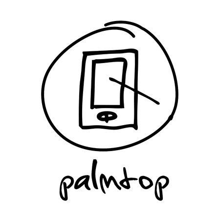 palmtop: web button - palmtop