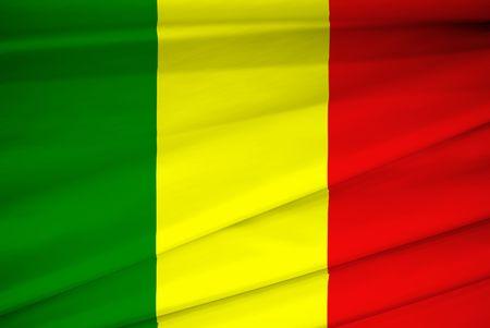mali: national flag of mali