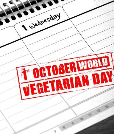 día mundial vegetariano Foto de archivo - 3643688