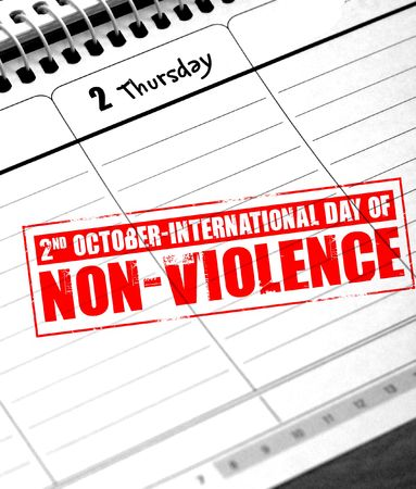 nonviolence: international day of nonviolence