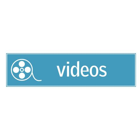 web button - videos