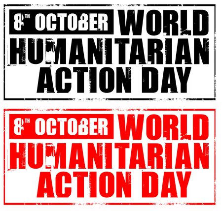 observance: 8th october - world humanitarian action day