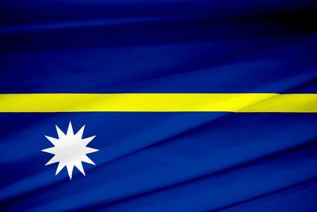nauru: national flag of nauru