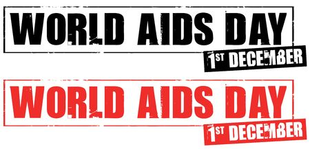 aids: december 1 - world aids day