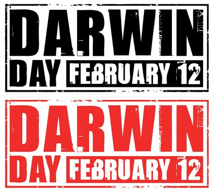 darwin: february 12 - darwin day Stock Photo