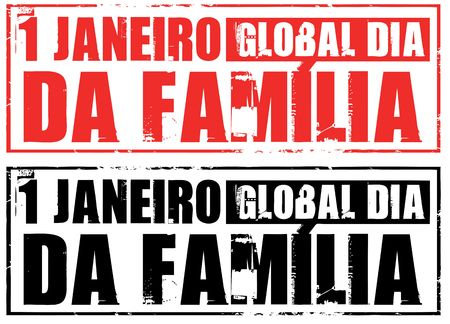 portugese: january 1 - global family day (portugese)