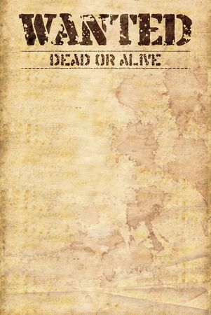 alive: wild west poster wanted