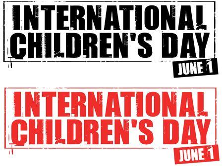 childrens day: international childrens day Stock Photo