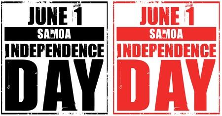 samoa: june 1 - samoa