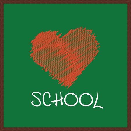i love school Vector