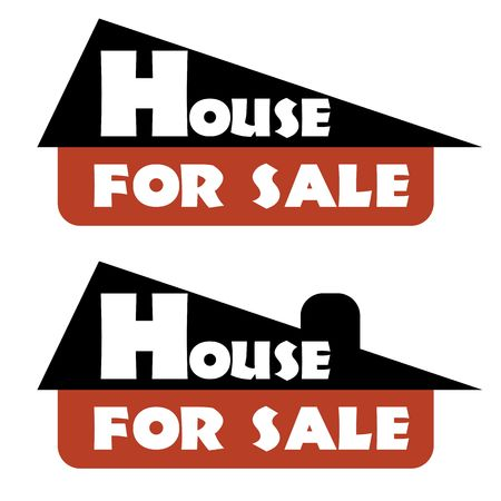 house for sale: house for sale sign