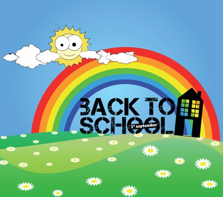 back to school Stock Vector - 5430491