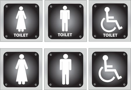 toilet signs photo