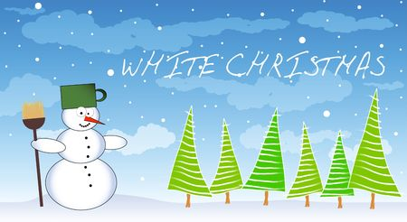 white christmas Stock Photo - 5735484