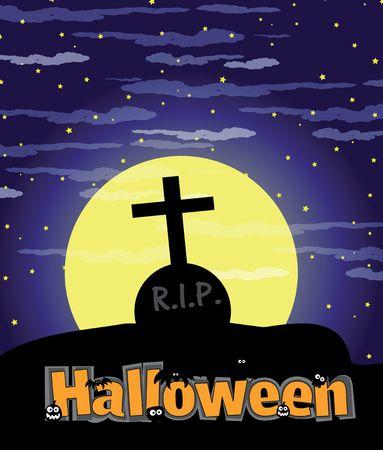 halloween illustration Stock Illustration - 5770559