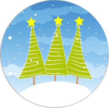 christmas illustration Stock Illustration - 5770554
