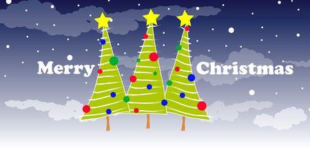 christmas illustration Stock Illustration - 5770542
