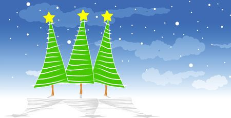 christmas illustration Stock Illustration - 5770531
