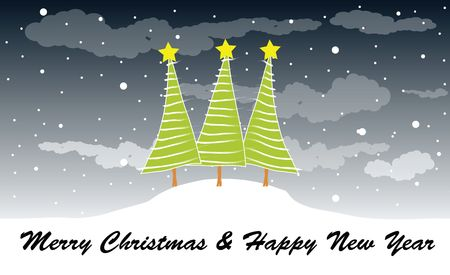 merry christmas and happy new year Stock Photo - 5993765