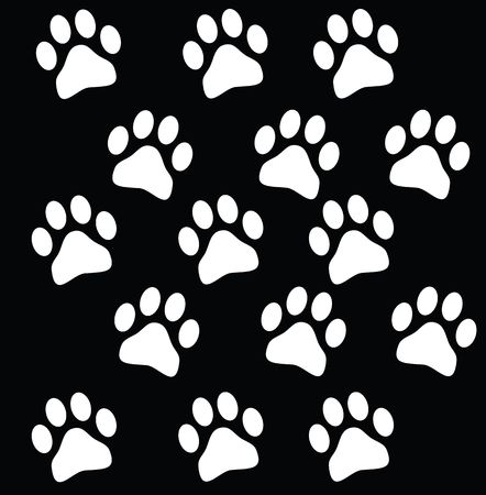 paw prints Stock Photo - 5993821