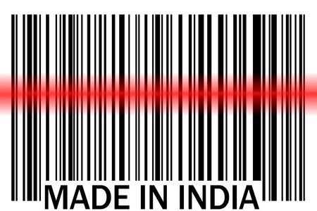 インドで作られたバー コード